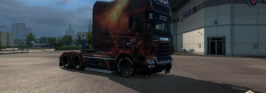 Scania RJL Longline Era of Dragons Skin