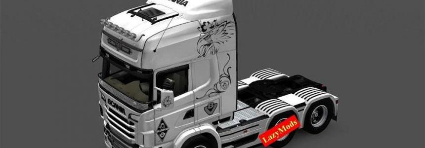 Scania RJL V8 Black Eagle