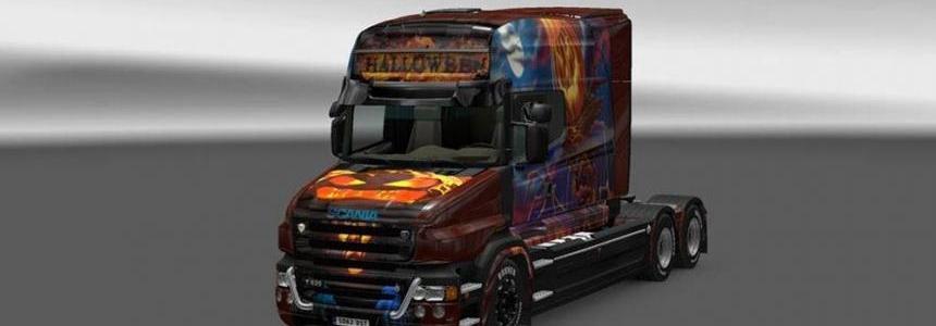Scania T Halloween Skin