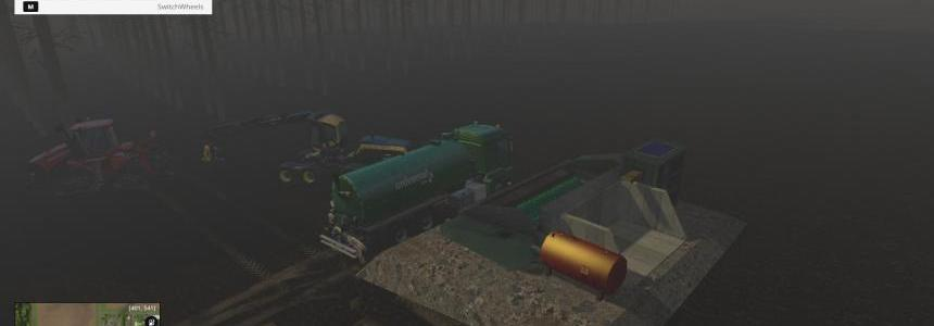 STATIONARY HACKER + DIESEL TANK FS 2015