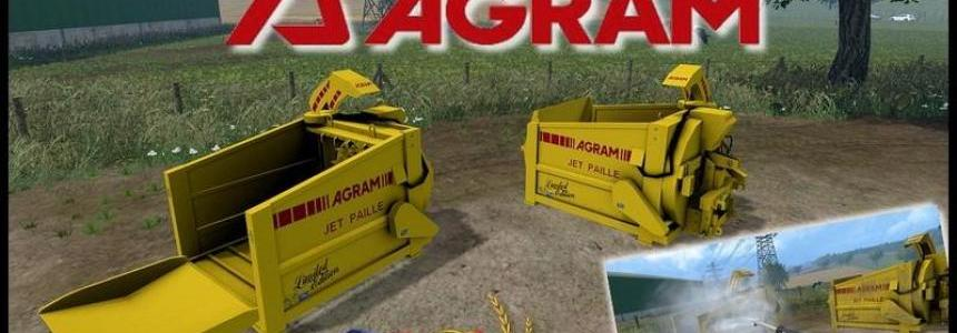 Straw blower Agram jet paille v3.0 Limited Edition yellow