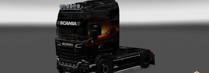 Sunset skin for Scania Streamline