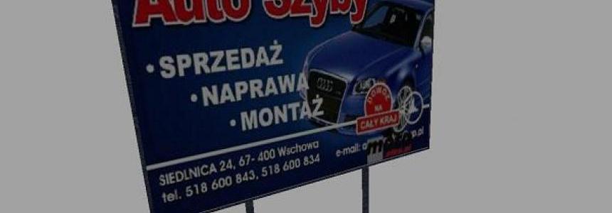 Tablica Auto Szyby (KMP Team)