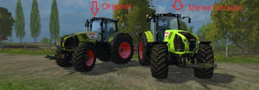 Texture for Axion 850 v1.1
