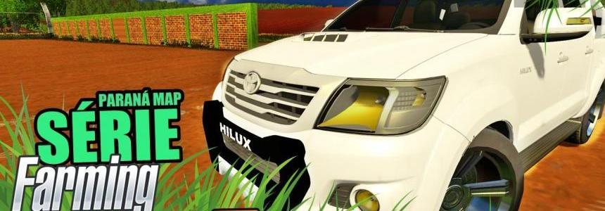 Toyota Hilux com Som