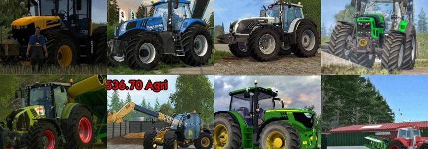 Tractors Pack By Darijonas v2