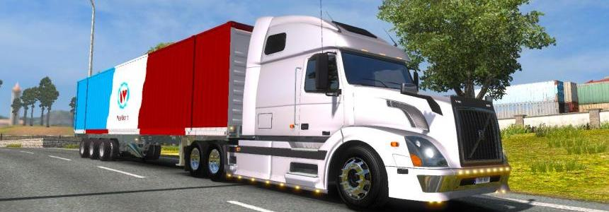 Trailer Wallbert American Truck Simulator 1.21