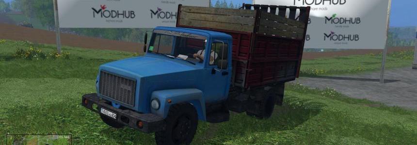 Truck GAZ 3307 v1.1