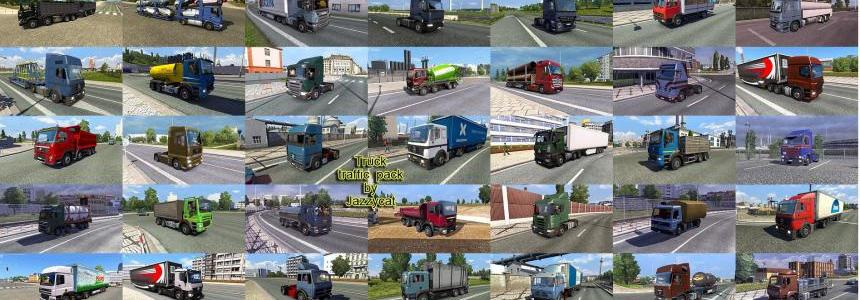Truck Traffic Pack by Jazzycat  v2.1