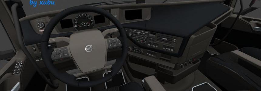 Volvo FH 2012 Dark Beige Interior v1.1