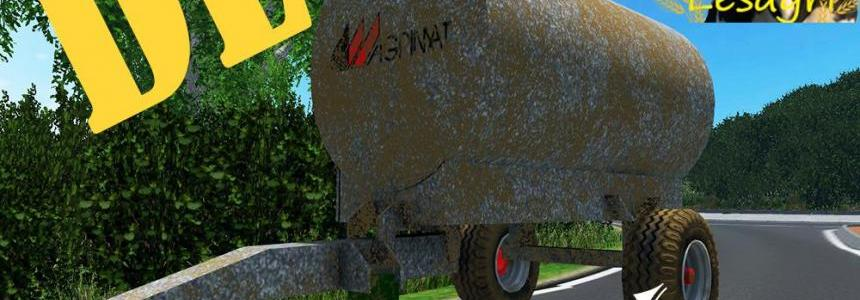 WaterTrailer Agrimat V1