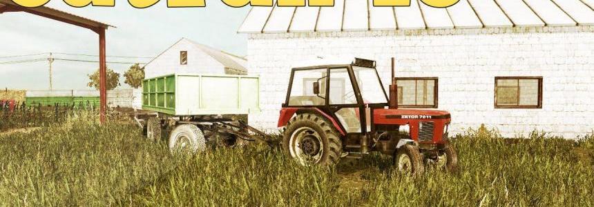 Zetor 7211 + Cultivator v1.0