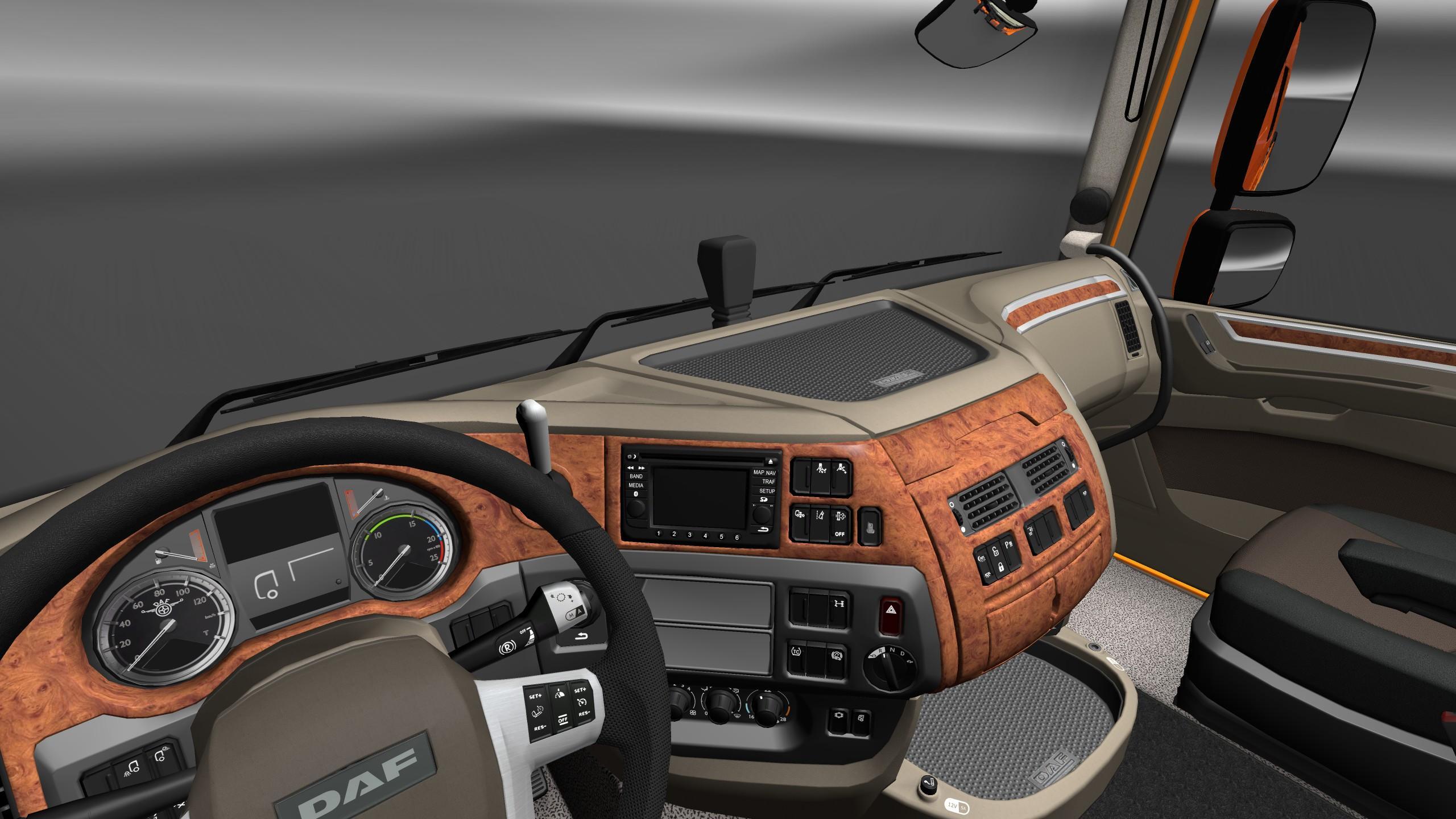 Daf xf 106 interior exterior rework for Exterior interior