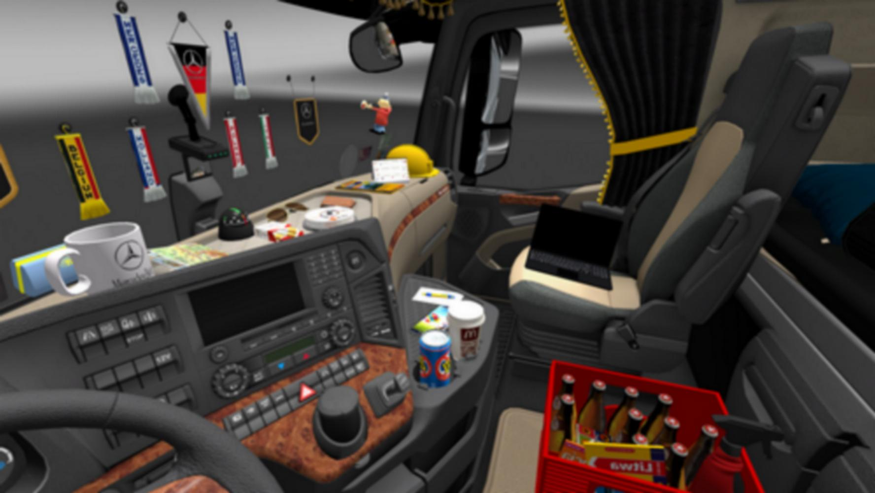 ats dlc cabin mod for simulator american truck accessories cabins