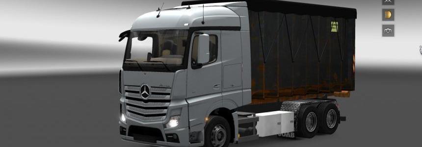 Mercedes Actros MP4 Mega Mod