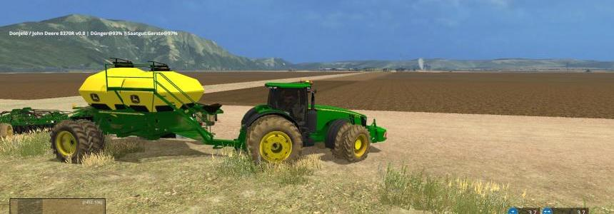 John Deere 8370r from AgroSketch