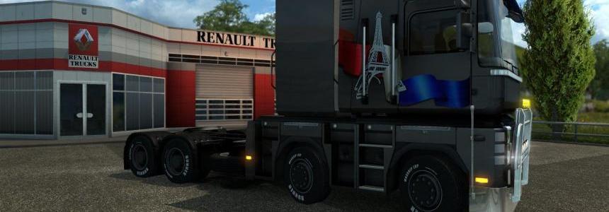 Renault Magnum 8x4 & 10x4 1.21