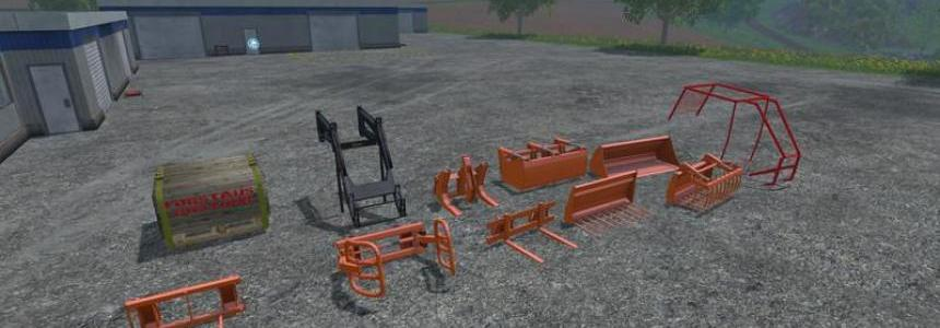 Steyr 8090 SK2 Equipment Pack v1.1