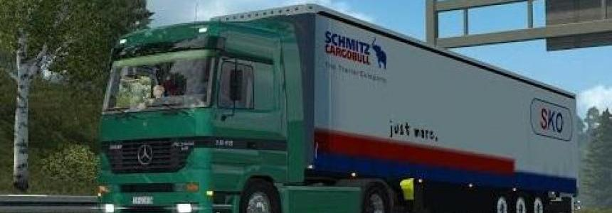 Actros MP1 V8 & V6 sound mod