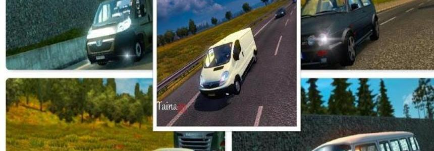 Ai Traffic Pack Mod V1.21.1