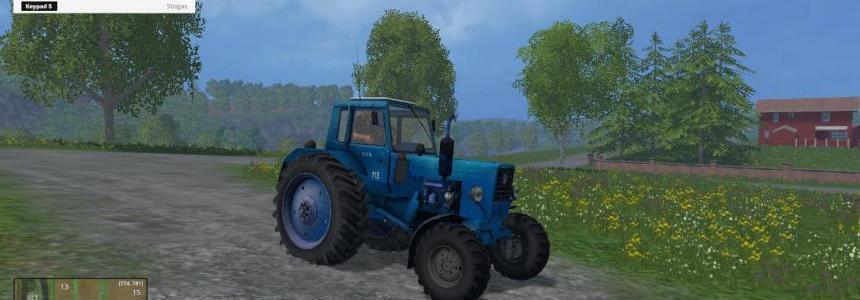 Belarus MTZ 82 blue v2.0