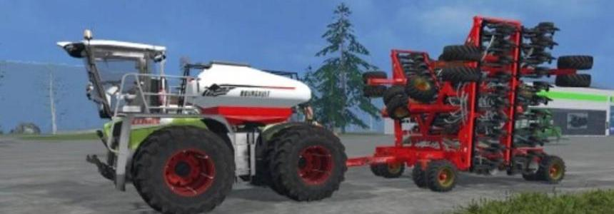 Bourgault sowing fertilization system v1.0
