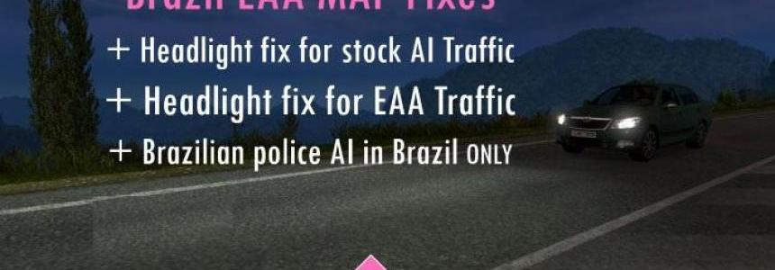 Brazil EAA Map Fixes (AI headlights + Brazil police) v2.0