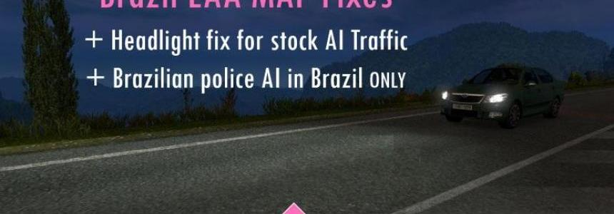 Brazil EAA Map Fixes (AI headlights + Brazil police)