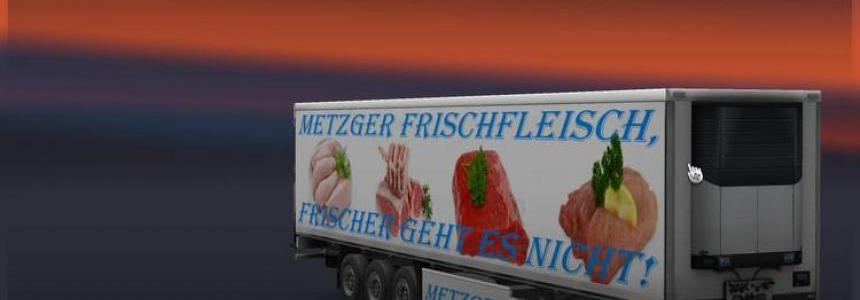 Butcher Fresh Meat Kuhltrailer v1.0