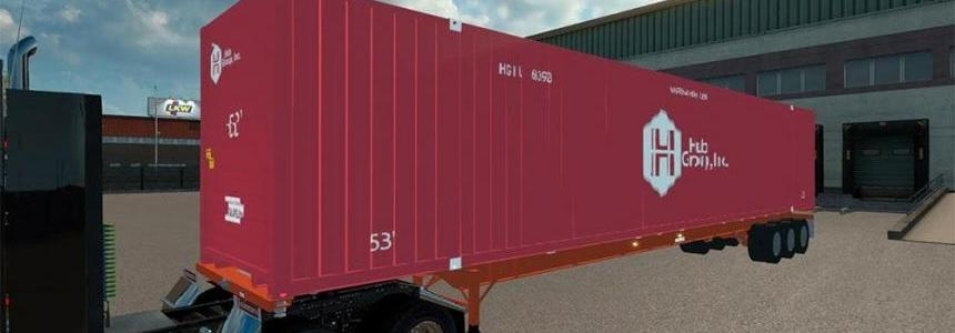 Chassis container 53ft v1.1
