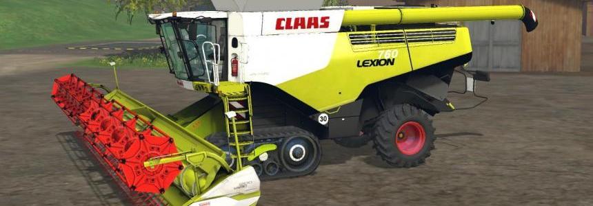 CLAAS LEXION 760 TT v1.2