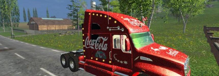 Coca Cola Christmas Truck v1.0