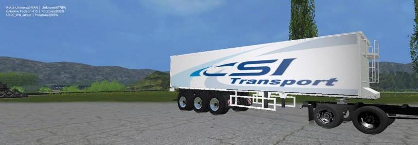 CSI Transport trailer v1