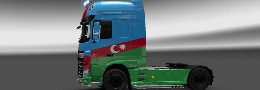 DAF XF Euro 6 Azerbaijan Skin
