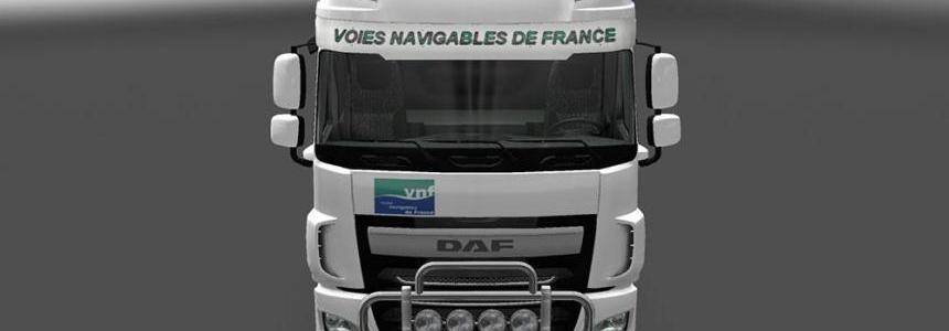 DAF XF Euro 6 VNF Skin