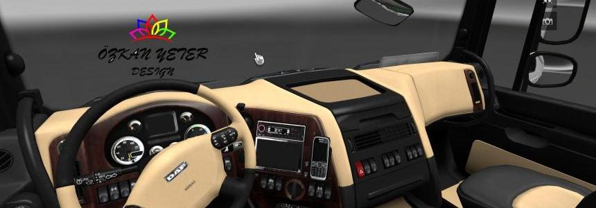 DAF XF Interior by ozkanyeter 1.21.x