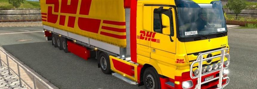 DHL pack for Mercedes Actros
