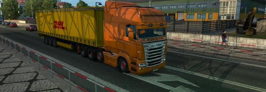 DHL Trailer + 6 New Cargoes 1.21