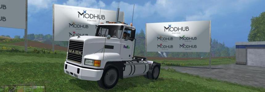 FedEx Mack Truck v1.0