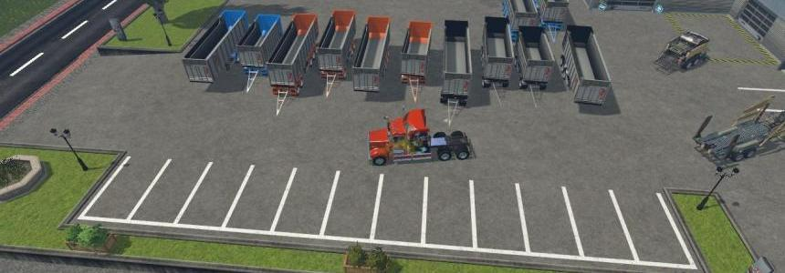 Fliegl TMK TrailerS PACK V1.0