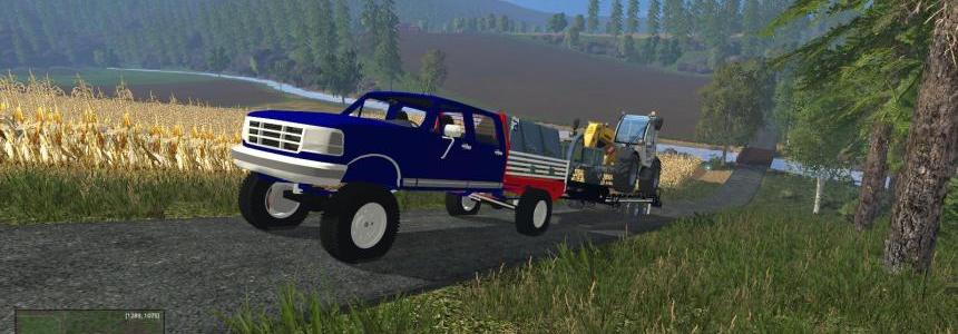 Ford F-superduty (F450) flatbed v1.0