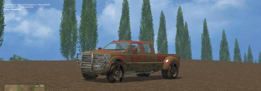 Ford F450 Platinum V9