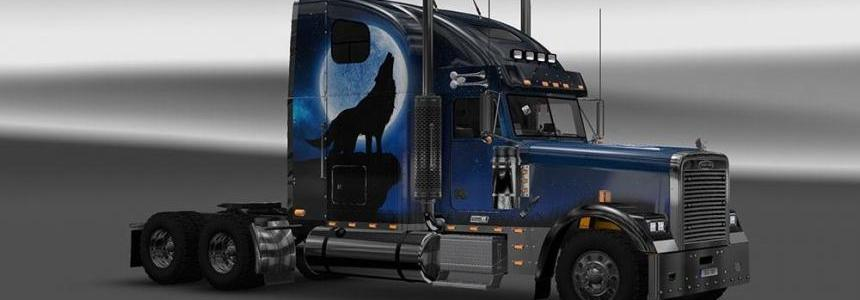 Freightliner Classic XL Wolf Skin