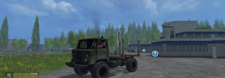 GAZ 66 Forest v1.0