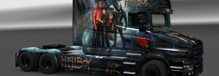 Hellboy Skin v1.0