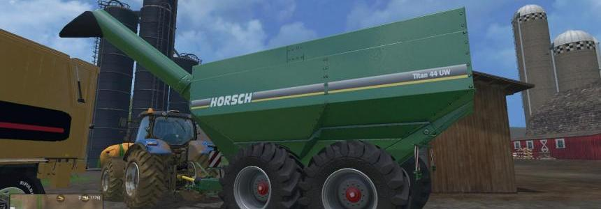 Horsch Titan 44 UW - Wood Chips FS 2015