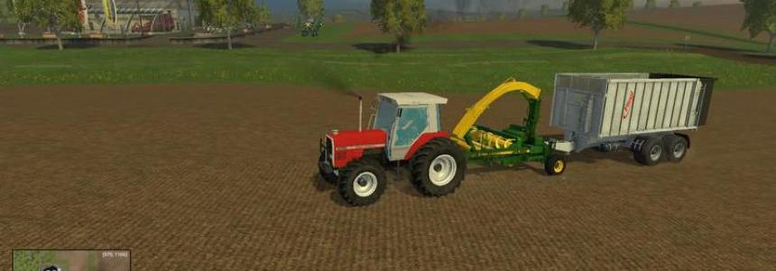 JD 3765 Trailed Forage Harvester v2.0