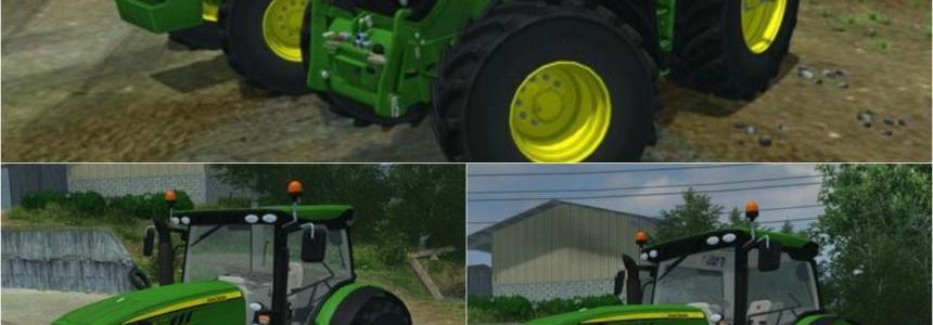 John Deere 6R Pack New Tractor v2.6