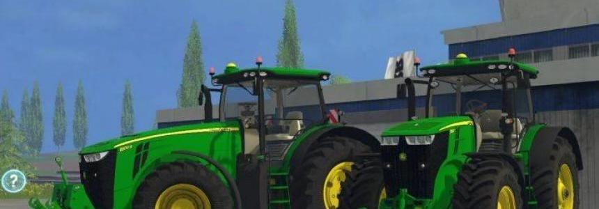 John Deere 7290R + 8370R Pack v0.4 BETA