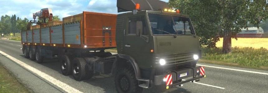 Kamaz 4410-6450 + Wheels Offroad 1.21.x